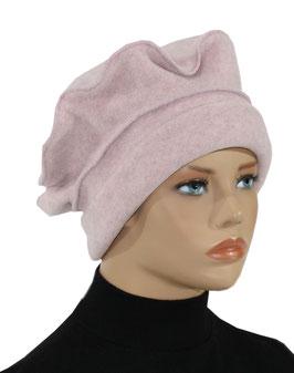 Damen Ballonmütze Fleece rosa Pamina