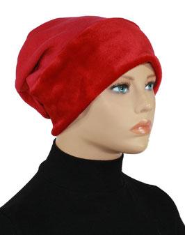 Beanie Mütze Wintermütze rot Sofie