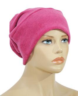 Beanie Fleece Mütze pink Lise