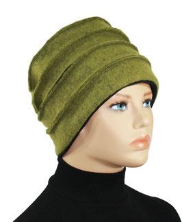 Walkmütze olivgrün Gwen