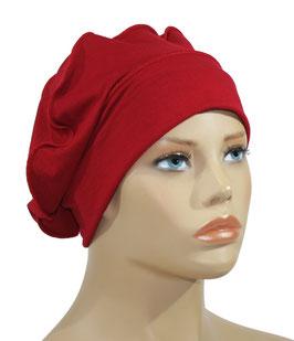 Ballonmütze Baskenmütze rot Reina