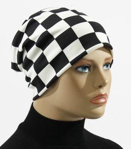 Damen Beanie Mütze Stoffmütze Chemo Cap Shari