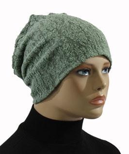 Beanie Mütze Jerseymütze grün Becky