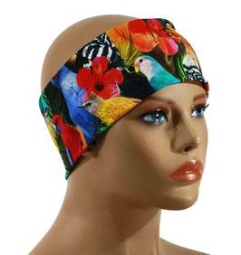 Damen Stirnband bunte Vögel