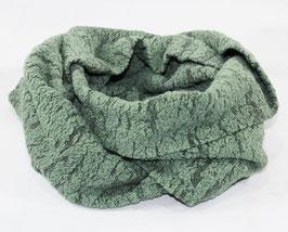 Loop Schal grün Jacquard Jersey Becky
