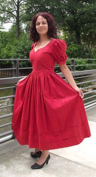 Vintage Laura Ashley Trachten Kleid