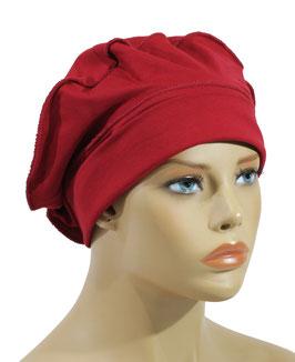 Ballonmütze Baskenmütze rot Anela