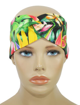 Turban Stirnband Haarband Orchidee