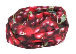 Loop Schal Rundschal rote Kirschen