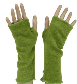 Daumenloch Armstulpen Fleece grün Pina