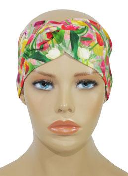 Damen Turban Stirnband Haarband Tulpen Irene