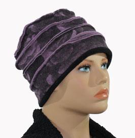 Damenmütze Walkmütze Filzmütze fliederton Leila