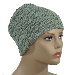 Beanie Mütze Chemo Mütze grün Jona