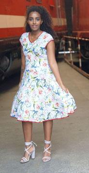 Sommerkleid Jersey 50er Stil Kiki