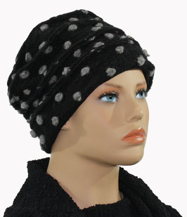Damenmütze Wollmütze Wollhut Walkmütze  Aneta
