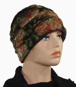 Damen Mütze Wollmütze Walkmütze Hut Charlott
