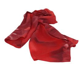 Damenschal rottöne Farbverlauf Sue