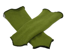 Armstulpen wendbar grün schwarz Sabrina