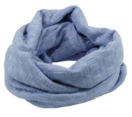 Damen Schlauchschal hellblau Julia