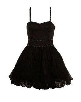 Topshop Rockabilly Kleid schwarz