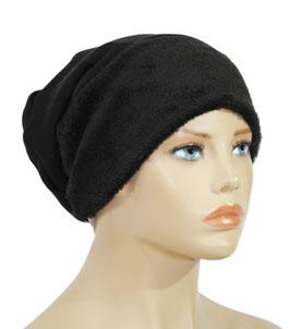Beanie Mütze Wintermütze schwarz Swea