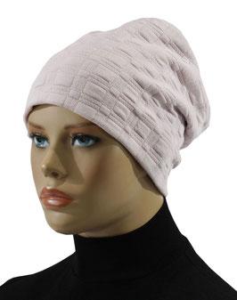 Damen Beanie Mütze Jerseymütze rosa Julita