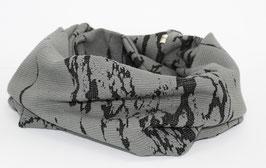 Loop Schal Runschal Jacquard grau Gisele