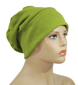 Beanie Mütze Wintermütze grün Sabrina