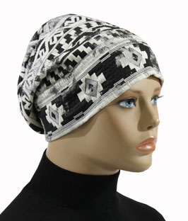 Beanie Mütze Damenmütze Stoffmütze Agnes