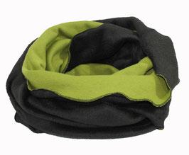 Loop Schal Rundschal grün schwarz Sabrina
