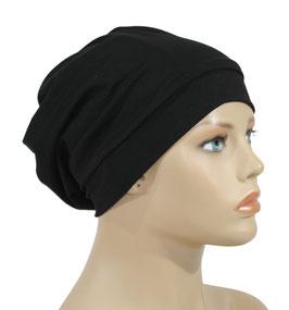 Chemo Mütze Beanie schwarz Janis