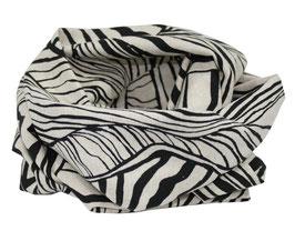 Loop Schal Leinen Zebra Look Sana