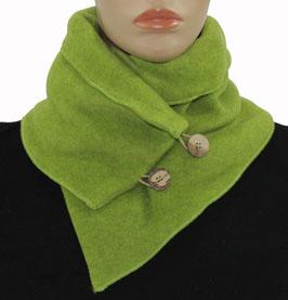 Schal Kragen Fleece grün Pina