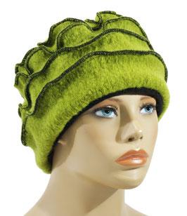 Walkmütze grün Wiola