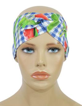 Turban Stirnband Haarband Vichy Karo