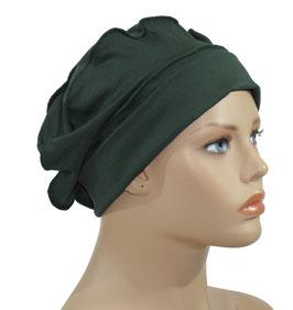Ballonmütze Damenmütze grün