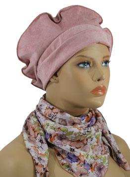 Damen Baskenmütze Xara altrosa