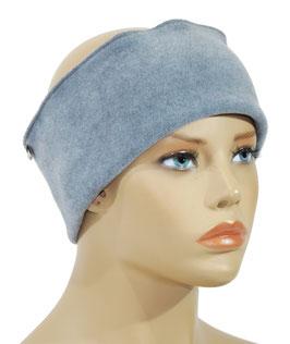 Stirnband Fleece eisblau Fanie