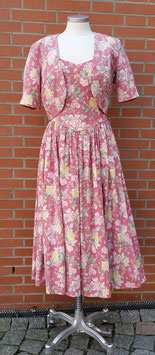 Laura Ashley Vintage Kleid Floral Lif