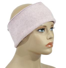 Stirnband Fleece rosa Pamina