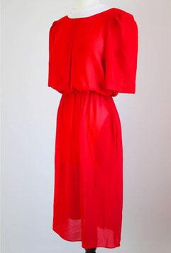 True Vintage Kleid rot 90er Jahre