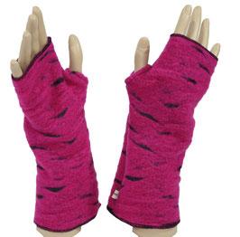 Armstulpen Daumenloch Walk pink Witha