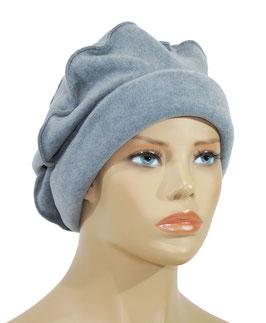 Damen Ballonmütze Fleecemütze eisblau Fibi