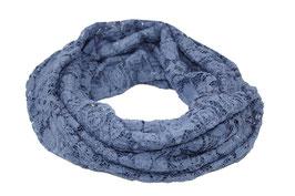 Loop Schal Rundschal Spitze blau Caron