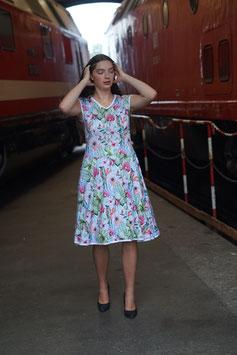 Sommerkleid Jersey 50er Stil Mexika