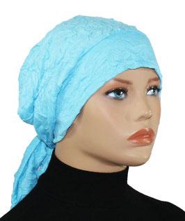 Chemo Mütze Turbanmütze türkis Cindy