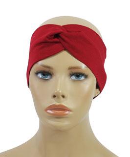 Stirnband Haarband Turban Stirnband rot Modell Reina