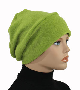 Beanie Fleece Mütze grün Pina