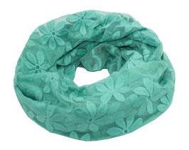 Loop Schal Spitze smaragdgrün