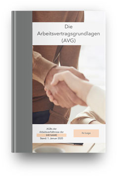 Arbeitsvertragsgrundlagen  Ihrer Einrichtung (AVG) - Erstellung & Druck